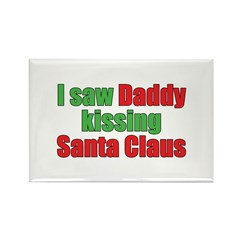 Gay Christmas Rectangle Magnet (10 pack)