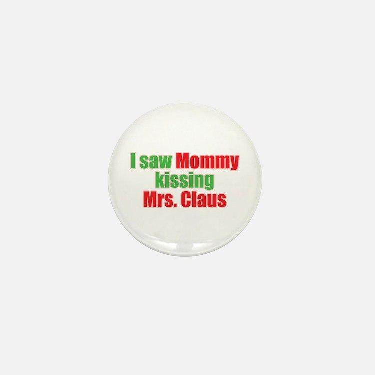 Gay Christmas Mini Button