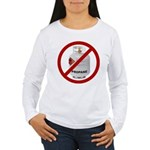 No Propane Women's Long Sleeve T-Shirt