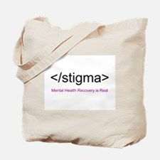 End Stigma HTML Tote Bag