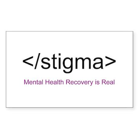 End Stigma HTML Sticker (Rectangle)