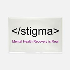 End Stigma HTML Rectangle Magnet