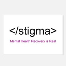 End Stigma HTML Postcards (Package of 8)