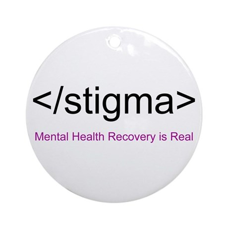End Stigma HTML Ornament (Round)