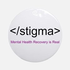 End Stigma HTML Ornament (Round)