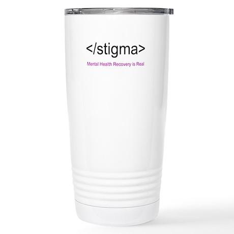 End Stigma HTML Stainless Steel Travel Mug