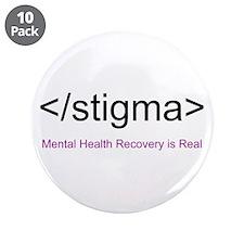 "End Stigma HTML 3.5"" Button (10 pack)"
