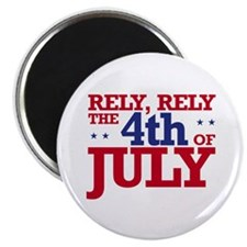 "Rely 4th of July 2.25"" Magnet (10 pack)"