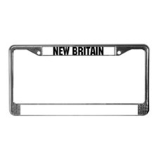New Britain, Connecticut License Plate Frame
