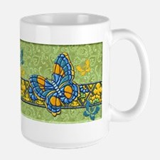 Harvest Moons Quilted Butterfly Mugs
