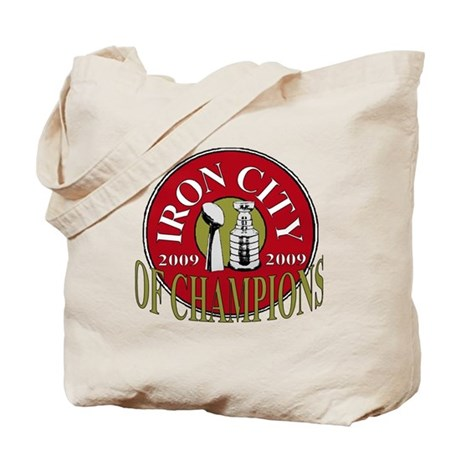 Iron City Of Champions Tote Bag
