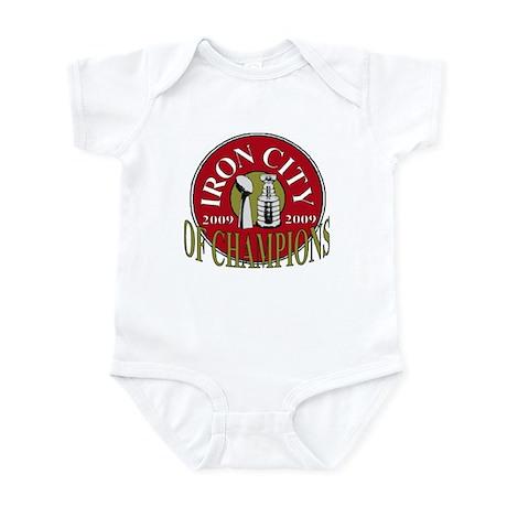 Iron City Of Champions Infant Bodysuit