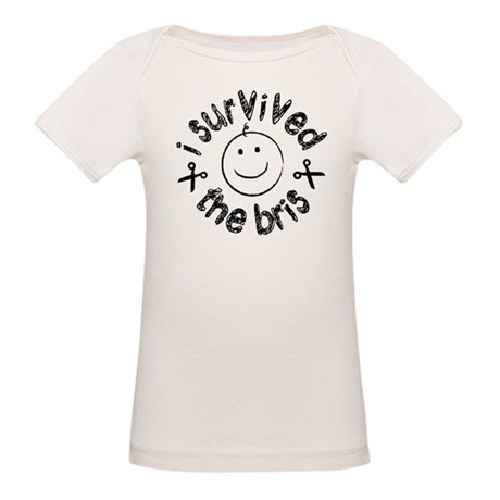 I Survived The Bris Organic Baby T-Shirt