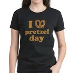 I Pretzel Pretzel Day Women's Dark T-Shirt
