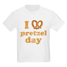 I Pretzel Pretzel Day Kids Light T-Shirt
