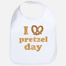 I Pretzel Pretzel Day Bib