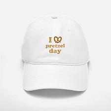 I Pretzel Pretzel Day Baseball Baseball Cap