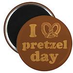 I Pretzel Pretzel Day Magnet