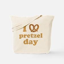 I Pretzel Pretzel Day Tote Bag