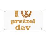 I Pretzel Pretzel Day Banner