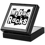 My Dad Rocks Keepsake Box