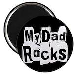 "My Dad Rocks 2.25"" Magnet (100 pack)"