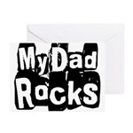 My Dad Rocks Greeting Cards (Pk of 20)