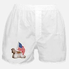 patriotic cocker spaniel Boxer Shorts