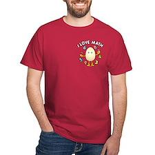 Love Math Pocket Image T-Shirt