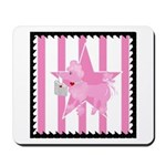 Pink Poodle Mousepad