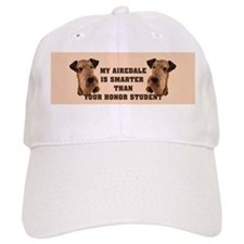 Airedale bumper stickers Baseball Cap
