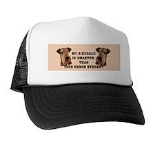 Airedale bumper stickers Trucker Hat