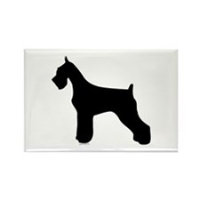 Silhouette #2 Rectangle Magnet (100 pack)