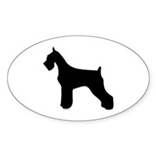Silhouette #2 Oval Decal