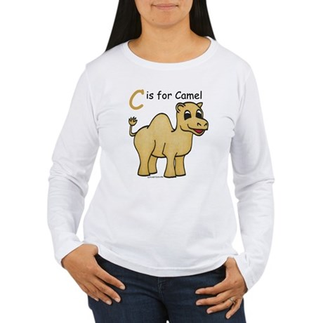 C is for Camel Women's Long Sleeve T-Shirt