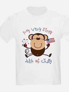 My 1st 4th Boy Monkey T-Shirt