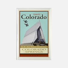 Travel Colorado Rectangle Magnet