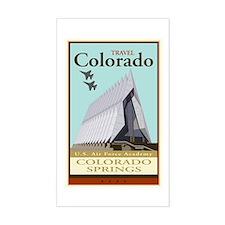 Travel Colorado Rectangle Decal