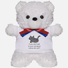 Talk to your cat Teddy Bear