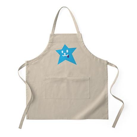1 STAR JUICY BLUE BBQ Apron