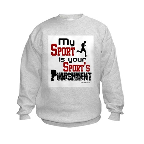 Your Sport's Punishment - Male Kids Sweatshirt