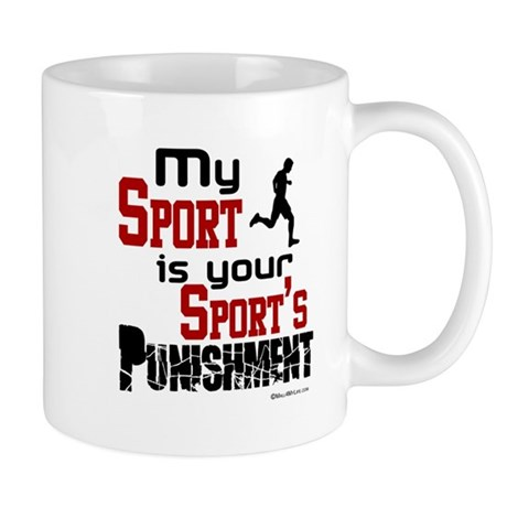 Your Sport's Punishment - Male Mug