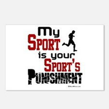 Your Sport's Punishment - Male Postcards (Package