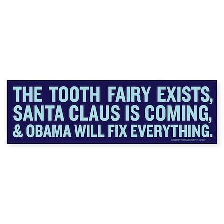 Obama Myth Bumper Sticker (10 pk)