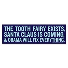 Obama Myth Bumper Bumper Sticker