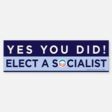 Yes You Did! Bumper Bumper Bumper Sticker