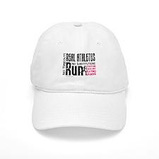 Real Athletes Run - Female Baseball Cap