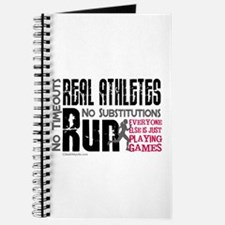 Real Athletes Run - Female Journal