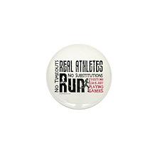 Real Athletes Run - Female Mini Button (10 pack)