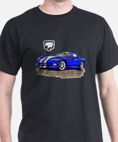 Viper Blue/White Car T-Shirt